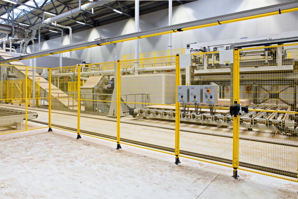 Satech OSHA Machine Guarding - BASIC Series - Woodworking Line with Interlocked Access