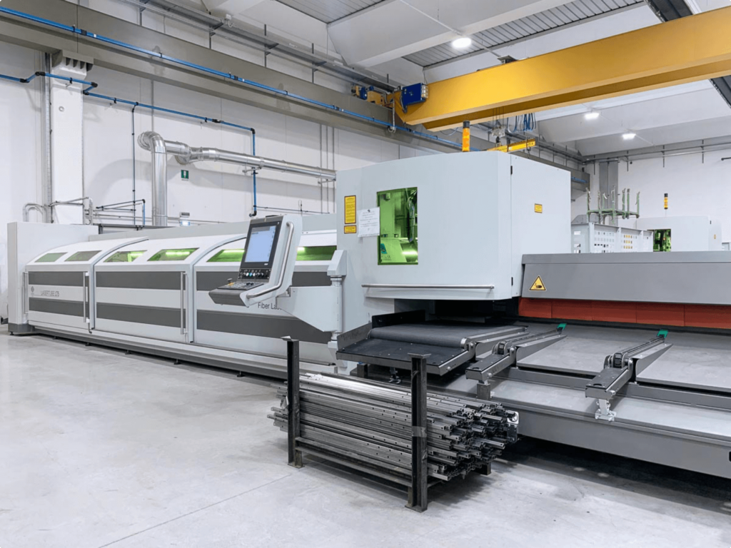 Satech Machine Safeguarding - Tube Laser Cutting Machine