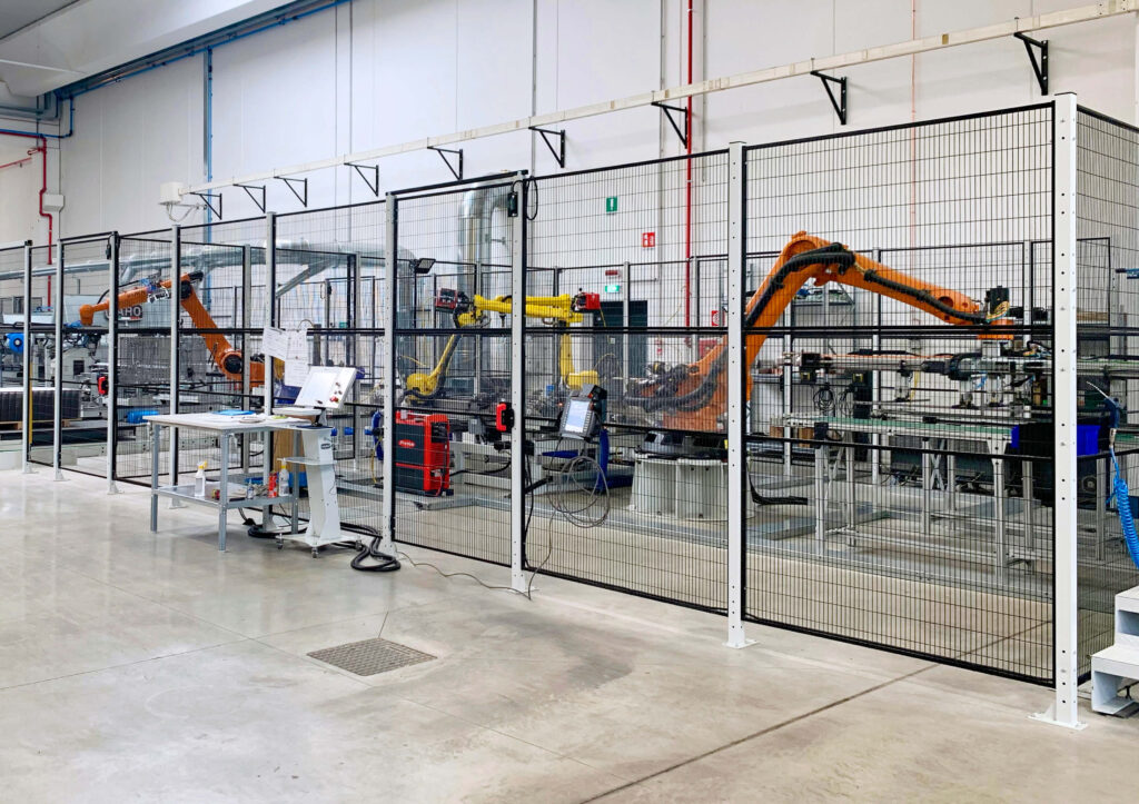 Satech Machine Safeguarding - Robotic Cell Production Line