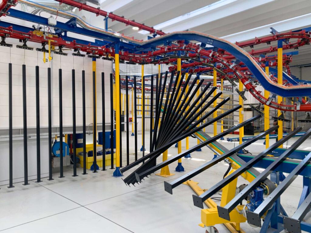 Satech Machine Safeguarding - Extensive Painting unit