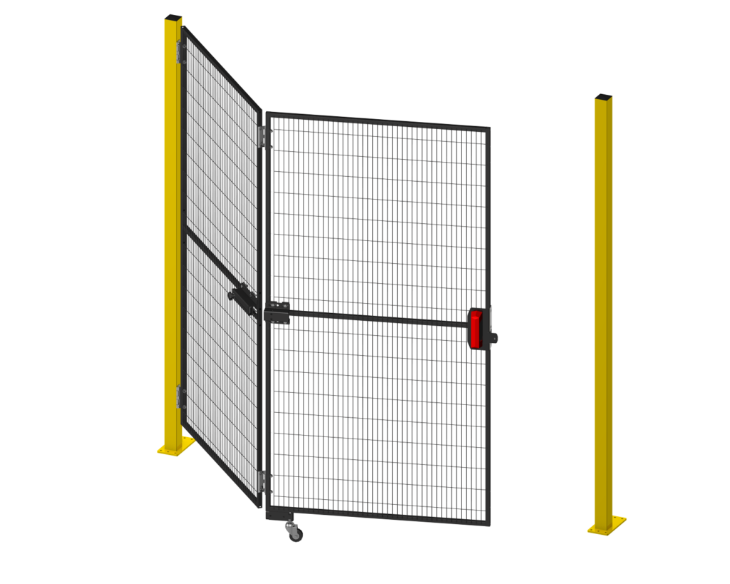 Satech Machine Guards - Folding Doors - The ideal solution for save spacing