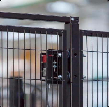 Satech Machine Guarding - Detail of GreenFast DP Installation