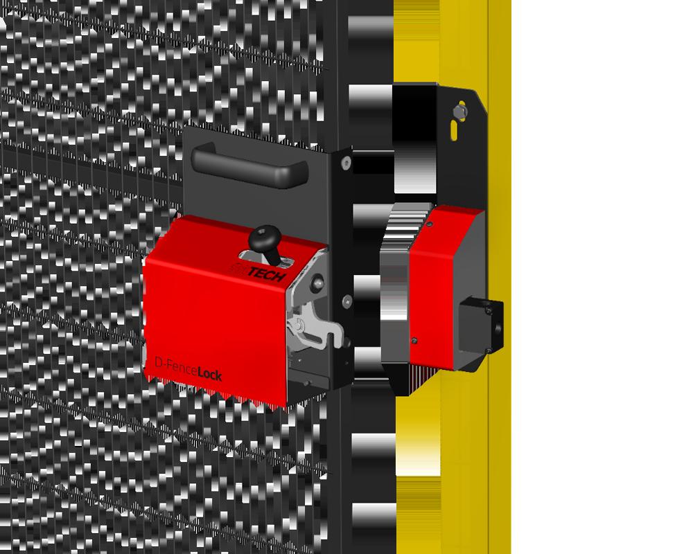 Satech Machine Guards Locks - D-FenceLock
