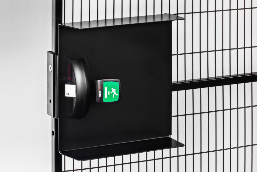 Satech Machine Guards Locks - CISA Panic Lock