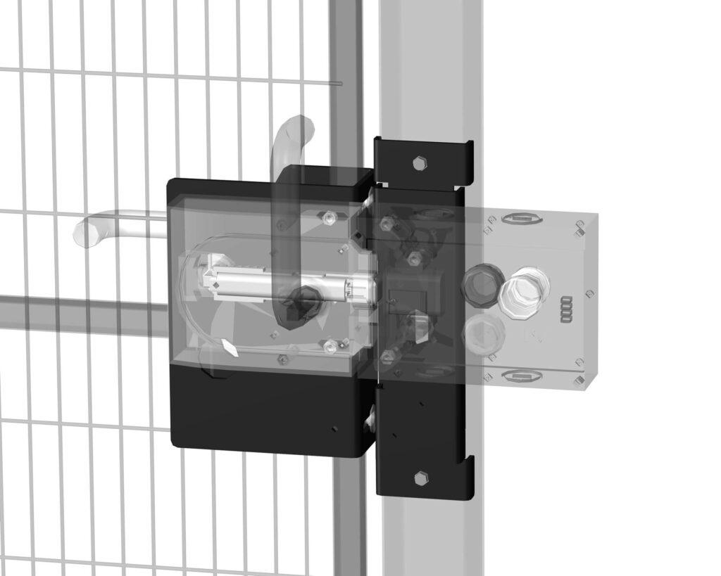 Satech Machine Guards Accessories - MGB Euchner Lock Bracket