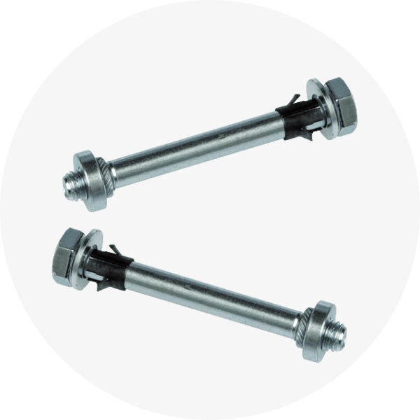 Satech Machine Guards - Captive Bolts and Nuts fixing