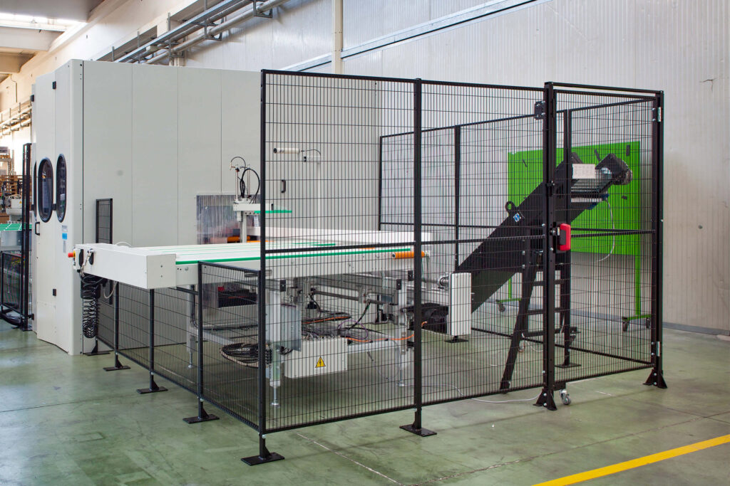 Satech FastGuard 20 Industrial Fencing - Metal Cutting Machinery Bundle Solution
