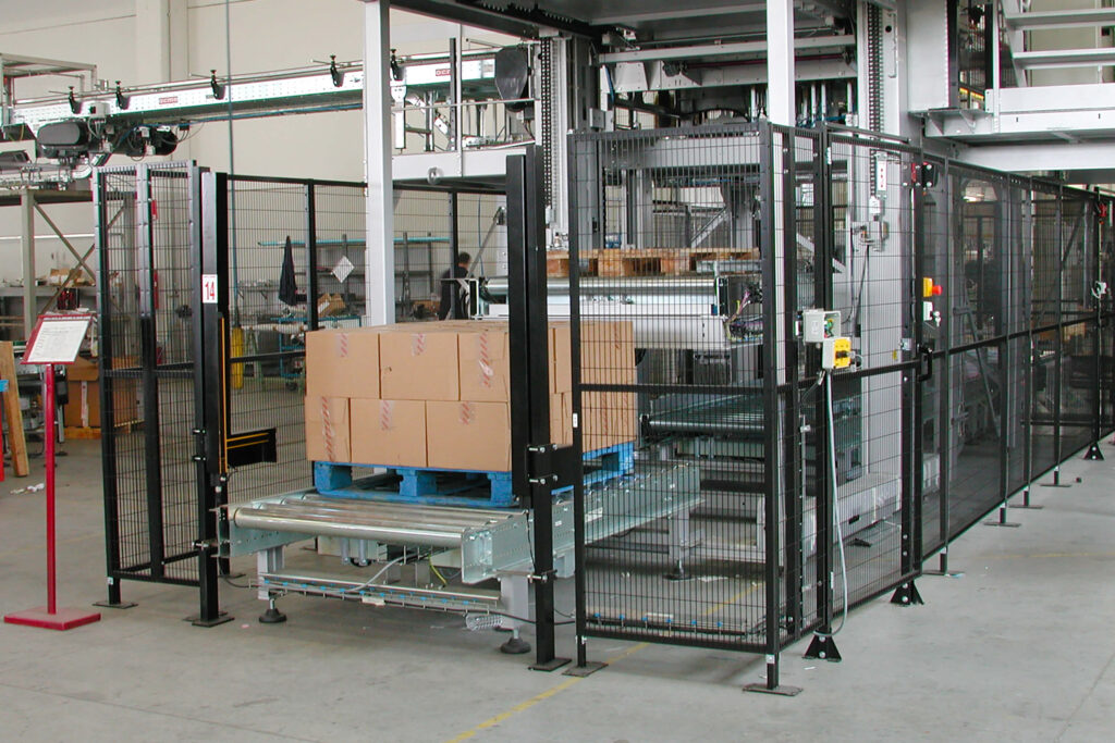 Satech FastGuard 20 Industrial Fencing - Customized Installation of standard product