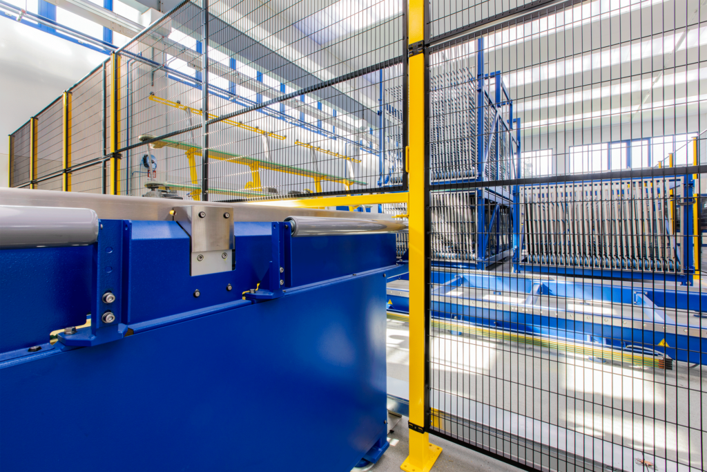 Satech STRONG Machine Guarding - Customised access with a Standard Panel