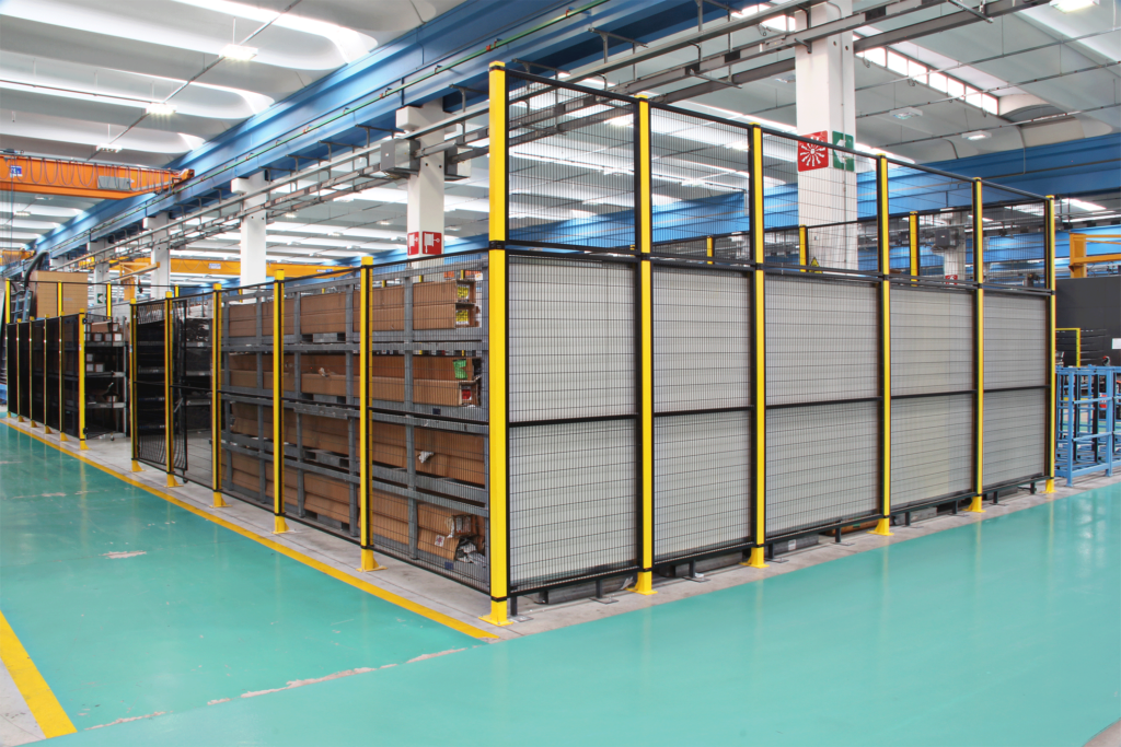 Satech STRONG Machine Guarding - Automatic Warehouse Partitioning