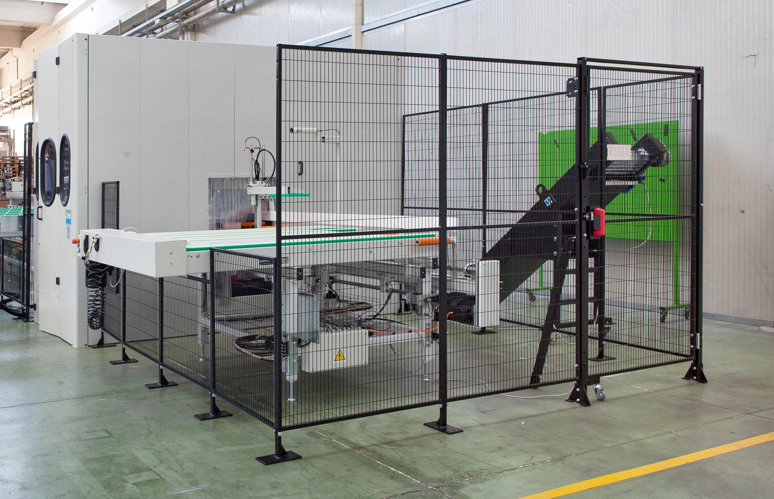 Satech GreenFast DP Industrial Safety Fence - Machine Manufacturer Bundle Solution